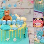 Baby shower driptaart